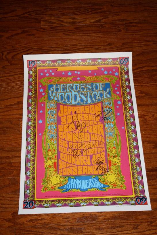 Heroes of Woodstock Poster #2