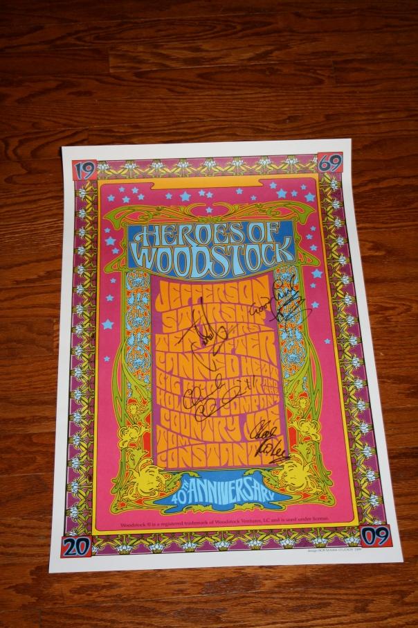 Heroes of Woodstock Poster #2