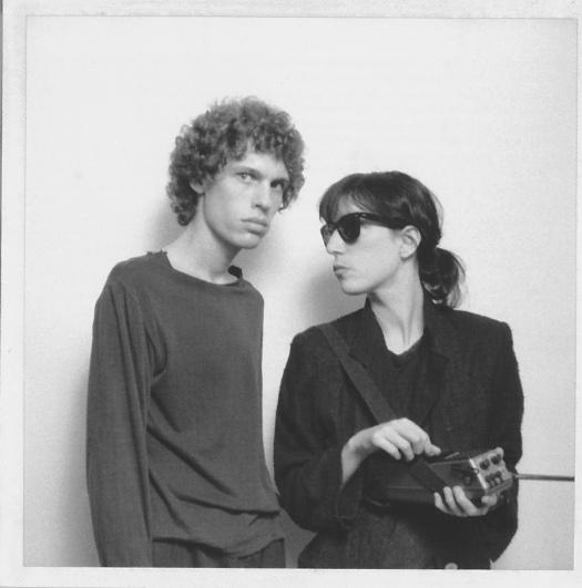 Richard Sohl and Patti Smith