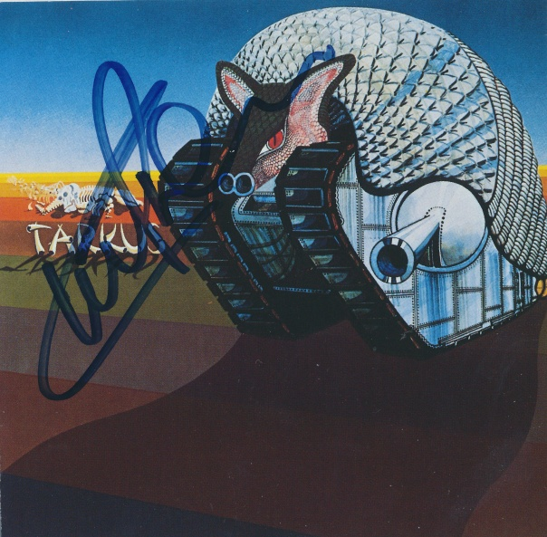 Tarkus Signed By Carl Palmer