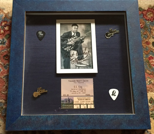 B.B. King Shadow Box