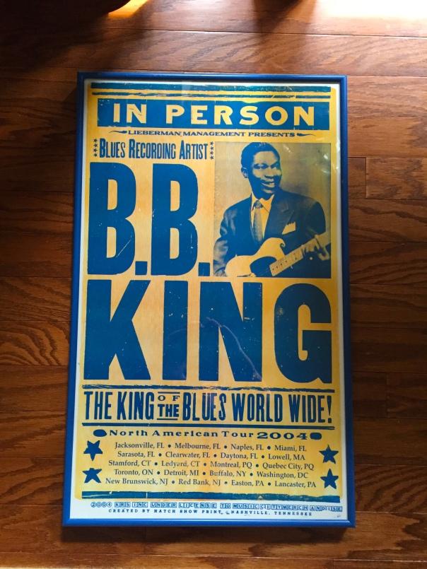 B.B. King 2004 Tour Poster