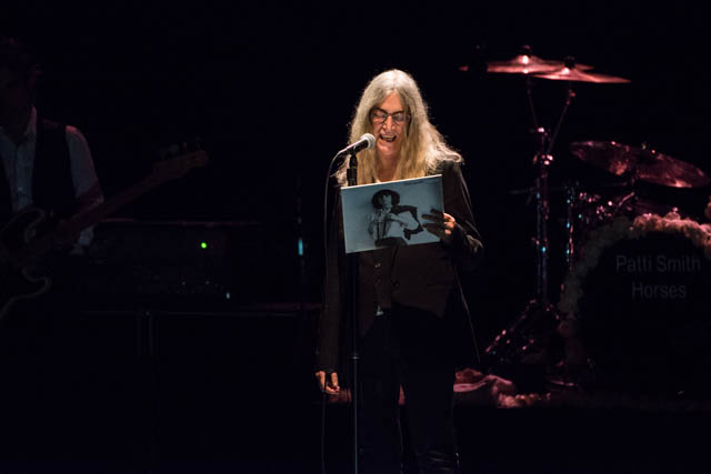 Patti Smith - The Wiltern Theatre - January 8, 2016