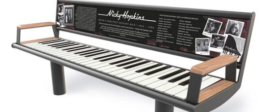Nicky Hopkins Bench